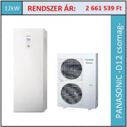 Panasonic Aquarea WH-UD12HE8/WH-ADC0916H9E8 hőszivattyú
