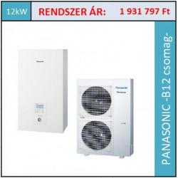 Panasonic Aquarea WH-UD12HE8/WH-SDC12H9E8 hőszivattyú